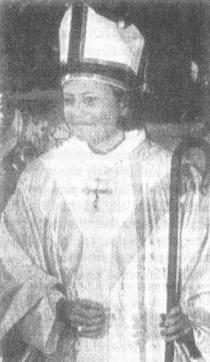 A contemporary priestess