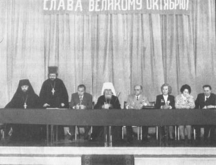 Only recently the anniversary of October Revolution was celebrated in the great hall of Odessa Theological Seminary, and not only there.